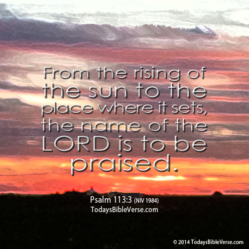 Name of the Lord to be Praised