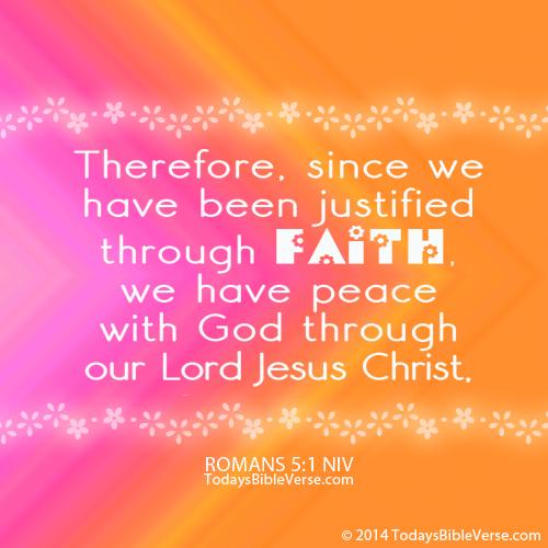 Justified Through Faith