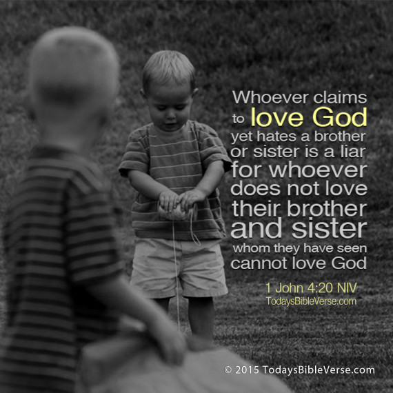 Claiming to Love God